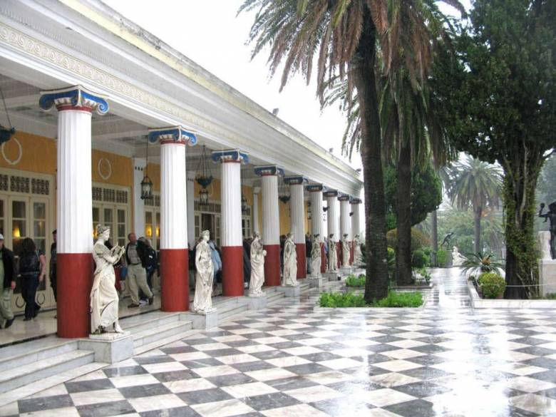 ACHILLION PALACE - CORFU TOWN TOUR